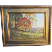 An American Landscape Painting by Frederick B. Williams