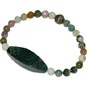 Natural Stone Bracelet of Mixed Stones