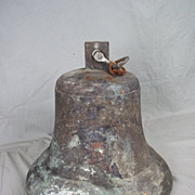 The Bronze Ships Bell From The Japanese Destroyer D-312 Murakumo Sunk In Action 1942