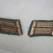 WW1 German Officers Collar Tabs (Pair)