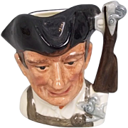 Royal Doulton Toby Jug D6580 Gunsmith