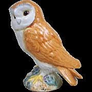 Beswick Pottery Model Of A Small Tawny Barn Owl