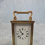 Circa 1900 French Brass Carriage Clock #2
