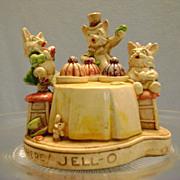 Vintage Jello Sebastian Advertising Figurine