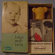 "Vintage Scottie  Baby""s Hot Water Bottle"