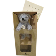 "Adorable 4"" Steiff Club Bear in Original Box with Certificate"