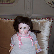 "Sweet 16"" French Turned Shoulder Head Doll w/Human Hair Wig"