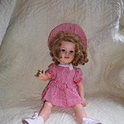 Sweet 1950's Shirley Temple Doll - Flirty Eyes - Cute Outfit