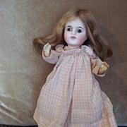 "Sweet 10"" Antique Bisque Head H. Handwerck Doll - Mold #69"
