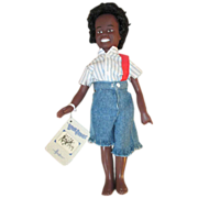 Effanbee Buckwheat Doll - Little Rascals - All Original with Hang Tag