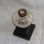 Antique make-do kerosene/oil lamp