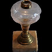 Star & Shield Oil Lamp
