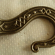 Cast iron ceiling hook for oil hanging lamp