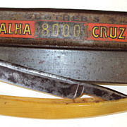 Art Deco Razor German Gunter's & Luckhaus Navalha Cruz 8000