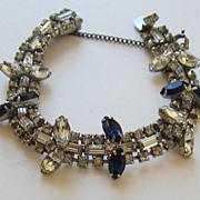 Magnificent Vintage Hobe' Rhinestone Bracelet