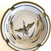 Vintage Duck Louisville Pottery Ashtray