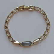 Darling Vintage Givenchy Gold Plated Link Bracelet