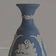 Vintage Wedgwood,Jasperware Blue Bud Vase