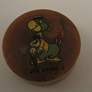 Joe Carioca Bakelite Pencil Sharpener