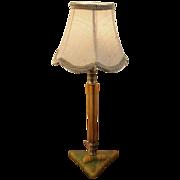 Bakelite Boudior Table Lamp with Shade