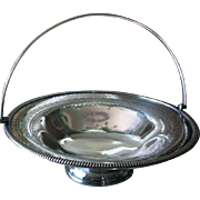 Silverplate Bridal Basket  Martin Hall & Co c1854