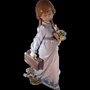 "Lladro, ""School Days"" figurine"