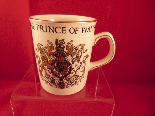 Royalty Commemorative Mug Prince of Wales Investiture 1969