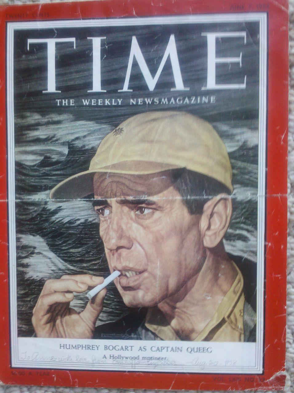 4 TIME Magazine Covers Signed by Artist Ernest Hamlin Baker 1958