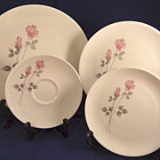Royal Doulton China Dishes Pillar Rose Pattern TC1011