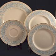 4 Royal Doulton China Dishes Hampton Court Pattern TC1020