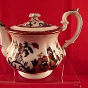 Davenport Children's Teapot Nankin Pattern c. 1850