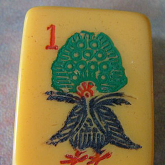 Vintage ROTTGAMES Mah Jong game - ready for NMJL play out of the box - 152 tiles