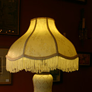 Pair of Vintage Porcelain Lamps