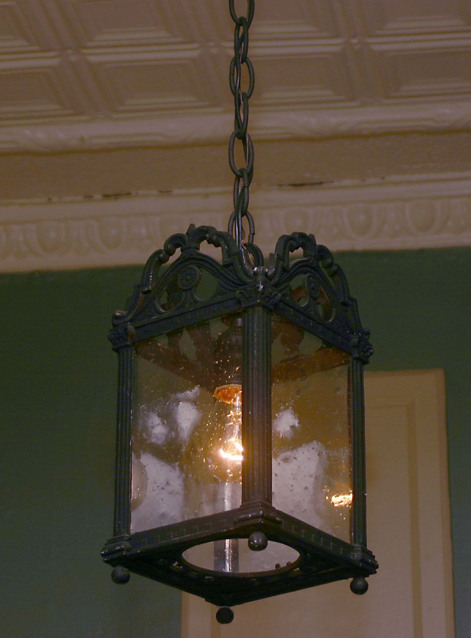 Hanging Lantern Late 1800's or Early 1900's