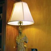 Oriental Figural Lamp
