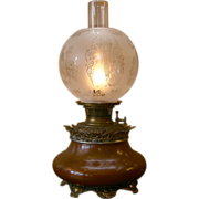 Bradly and Hubbard Kerosene Lamp