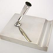 Tiffany Makers Sterling Pen Holder/Desk Piece  c. 1950