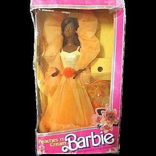 SALE 1984 Classic Peaches 'n Cream African American Barbie