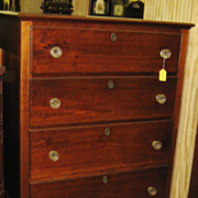 Antique Southern Walnut High Chest