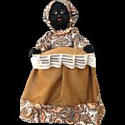 Folk Art Black Mammy Doll