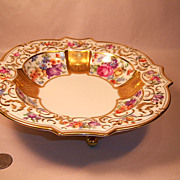 "Unusual Schumann  ""Garland"" Footed Bowl"