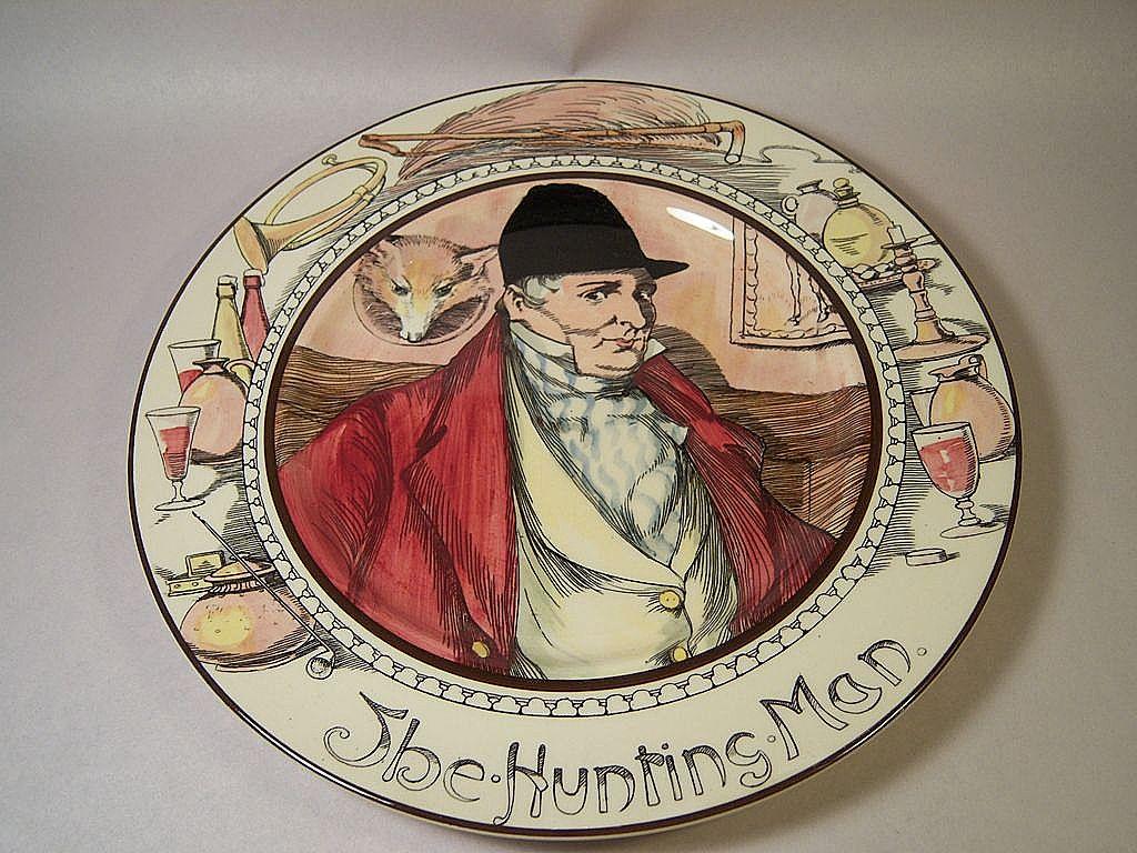 Vintage Royal Doulton-The Hunting Man-Professional Series 3rd Firing