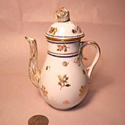 Herend CORONATION Tiny Individual Coffee Pot