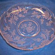 Heisey ROSE Gardenia Bowl