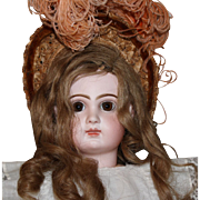 Tete Jumeau, French doll with closed mouth, Size 10-23 inches