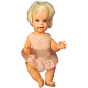 """Mattel Tiny Cheerful Tearful miniature 7"""" doll frowns smiles"""
