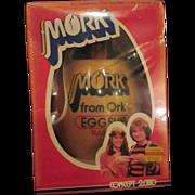 Mork from ORK robin Williams original egg ship radio never opened