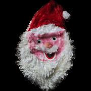 Creepy vintage Santa Claus  pajama bag head