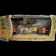 Marx Miniature Fairykins Playset in original box