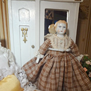 German Doll House Blonde China